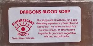 Fluorescent Ranch Soap: Dragons Blood Soap